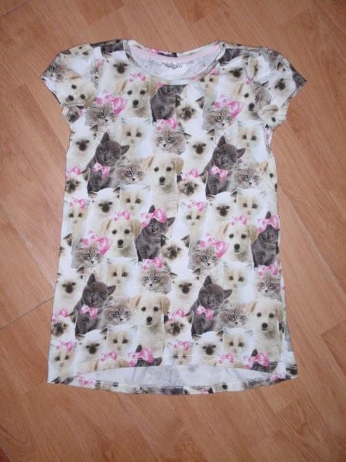 f16902fbac1737 Szorty + bluzki sukienki H&M Kappahl 122/128 dla dziewczynki ...