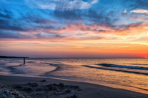 Piękno natury. #bałtyk #chmury #d3100 #grzybowo #morze #nikon #plaża #światło #ZachódSłońca