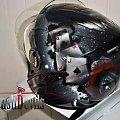Unikatowy kask joker #aerograf #airbrush #custom #hełm #joker #kask #motocykl #motor