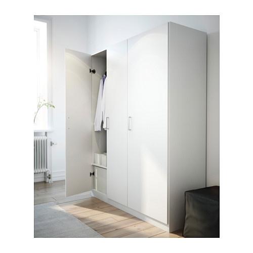 Ikea szafa 3 drzwiowa 140x51x181 cm dombas bia a 5146153391 wi cej ni aukcje - Separe ikea per interno ...