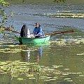 na jeziorze każdy orze tak, jak może #jezioro #łódka #nastrój #Ciepłe #Kaszuby #zakonnica