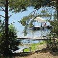 na jeziorze ...Brzeźno na Kaszubach (OWT AWFiS) #jezioro #woda #Kaszuby #Brzeźno