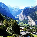 W dolinie #gory #Alpy #Szwajcaria #dolina