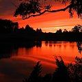 * * * #wschód #zachód #jezioro #Brzeźno
