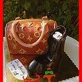 Tort torebka Louis Vuitton i but Chanel #but #chanel #LouisVuitton #szpilki #torebka #tort #TortyArtystyczne #TortyKraków #TortyWalentynki