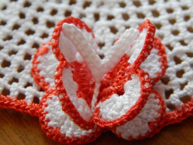 serwetka z motylkami