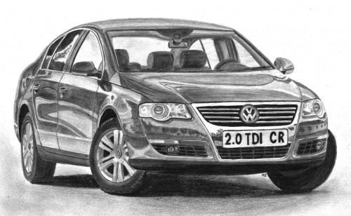 VW Passat B6 2.0 TDI CR