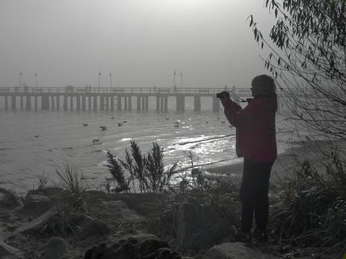 ...tak iść i iść i ...fotografować #foto #molo #morze