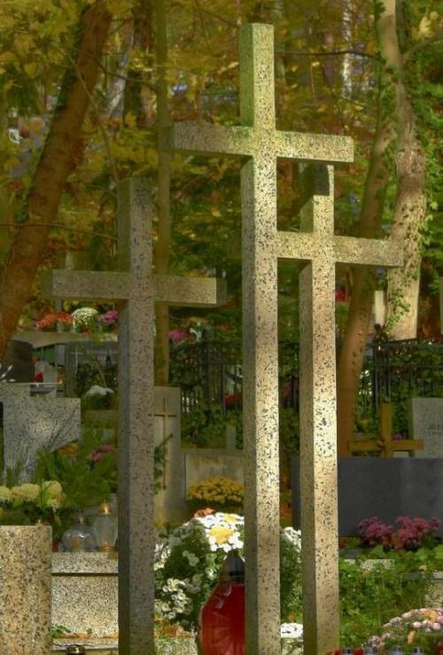 krzyże #cmentarz