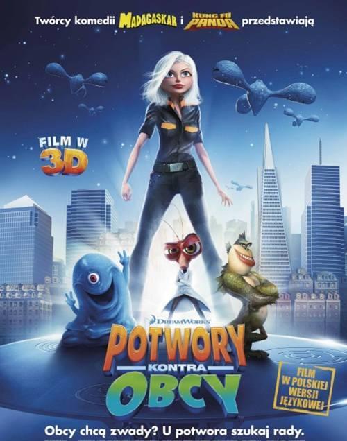Monsters vs. Aliens / Potwory Kontra Obcy (2009) PL.AC3.DVDRip.XviD-CujoAndReksio / Dubbing PL