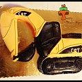 Tort koparka Cat #budowa #cat #koparka #tort #TortyKraków #TortyWalentynki #urodziny