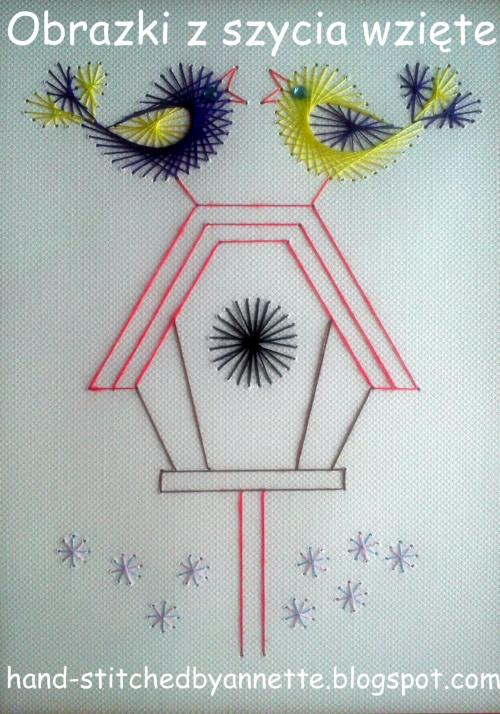 Obrazki z szycia wzięte - na podstawie wzoru ze stitchingcards.com #HaftMatematyczny #ObrazkiZSzyciaWzięte #fantagiro7