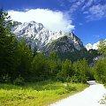 Szlak na Mangart #Góry