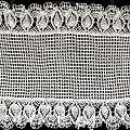 Bieżnik z ananasami dookoła 115x60 cm #bieżnik #crochet #crochetting #knitting #obrus #ozdoby #RobótkiNaDrutach #szydelkowanie #szydełko