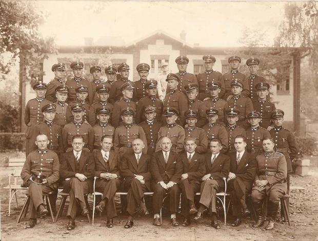 Nadleśnictwo Mestwinowo, szacowane lata krótko przed 1939 Jednym z leśników Tomasz Antczak 1871 - 1954